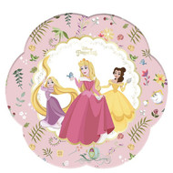 Disney Princess Floral Party Flower Plates