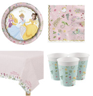 Disney Princess Floral Complete Tableware Set
