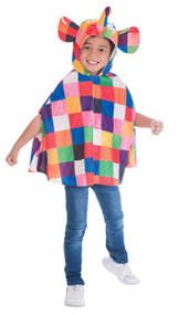 Child's Elmer Fancy Dress Cape