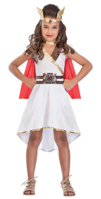 Girls Goddess Princess Fancy Dress Costume