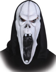 Mens Horror Ghost Fancy Dress Mask