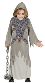 Boys Chained Ghost Fancy Dress Costume