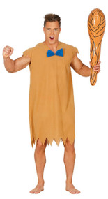 Mens Retro Caveman Fancy Dress Costume