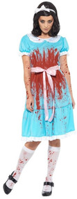 Ladies Murderous Sister Fancy Dress Costume