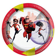 Incredibles 2 Party Plates