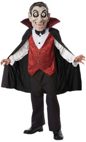 Boys Googly Eyes Vampire Fancy Dress Costume