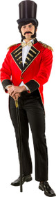 Mens Deluxe Circus Showman Fancy Dress Tailcoat