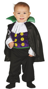 Baby Little Vampire Fancy Dress Costume