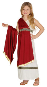 Girls Roman Historical Fancy Dress Costume