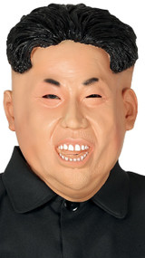 Adults Smiley Kim Jong Un Fancy Dress Mask