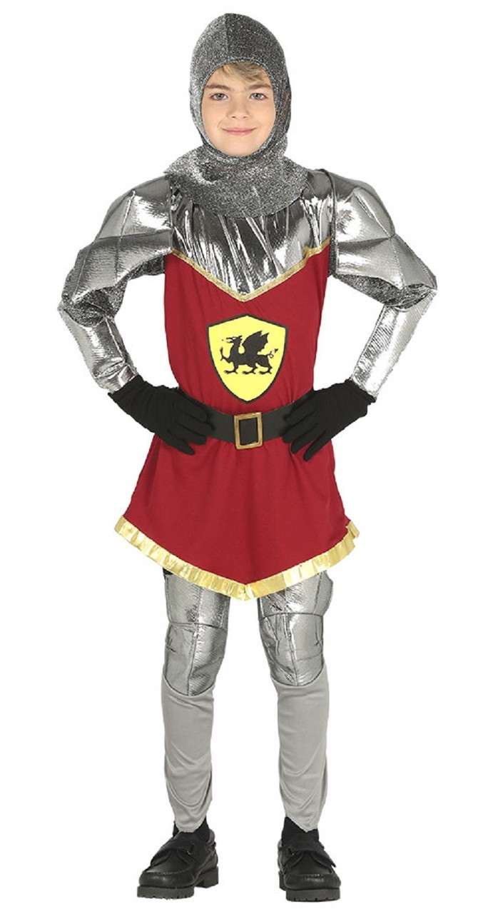 Kids Book Week Day Middle Age Fancy Dress Party Medieval Knight Lord Costume UK