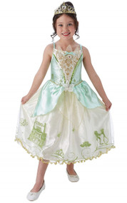 Girls Storyteller Tiana Fancy Dress Costume