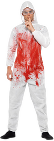 Adults Forensic Killer Fancy Dress Costume