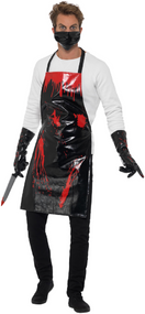 Mens Bloody Butcher Fancy Dress Costume 1