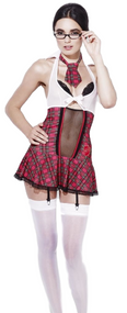 Ladies Fever Grade A Student Fancy Dress Costume