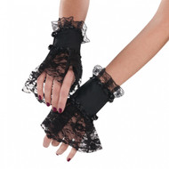 Ladies Gothic Lace Cuffs