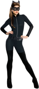 Ladies Classic Catwoman Fancy Dress Costume