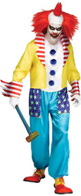 Mens Wicked Killer Clown Fancy Dress Costume