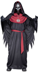 Boys Dark Socerer Fancy Dress Costume