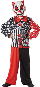 Boys Laughing Clown Fancy Dress Costume