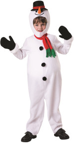 Boys Cute Snowman Fancy Dress Costume