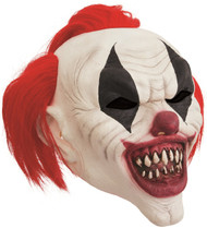 Adults Twisted Clown Fancy Dress Mask