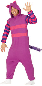 Mens Grinning Cat Fancy Dress Costume