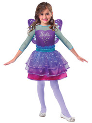 2a024035 Girls Barbie Pink Diamond Princess Fancy Dress Costume - Fancy Me ...