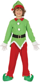 Child's North Pole Elf Fancy Dress Costume
