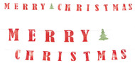 Traditional Merry Christmas Banner