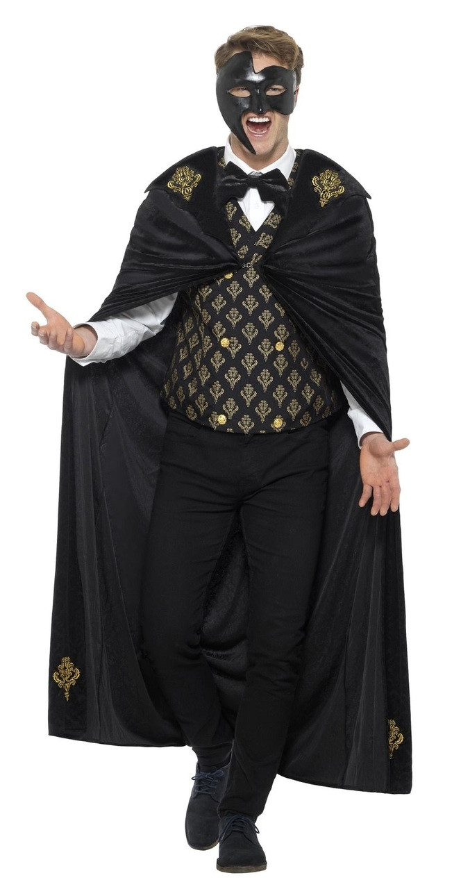 12c4a499ae45b Mens Deluxe Phantom Fancy Dress Costume. Image 1 Click to view full size  image