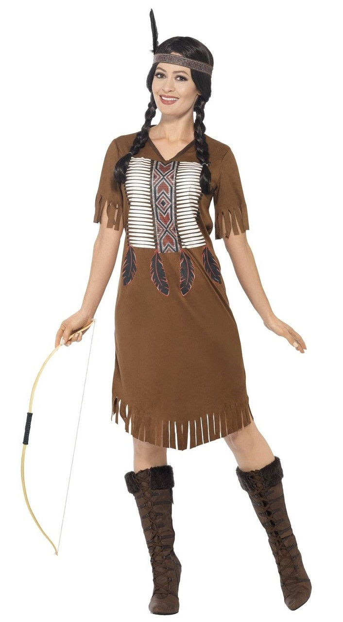 California Costumes Collections 01313 Adult Native American Beauty