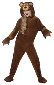 Childs Brown Bear Fancy Dress Costume