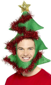 Adults Christmas Tree Hat