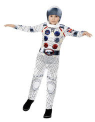 Childs Deluxe Astronaut Fancy Dress Costume