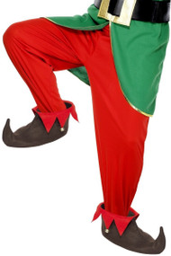Adults Jingly Elf Shoes Fancy Dress Accessory