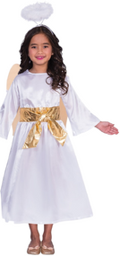 Childs Angel Gabriel Fancy Dress Costume