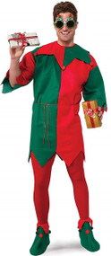 Adults Elf Fancy Dress Costume