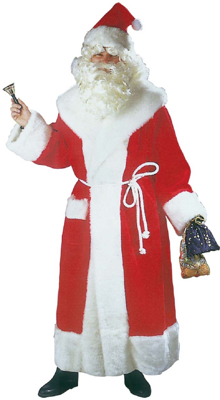 e4bfc534c87eb Mens Deluxe Santa Gown Fancy Dress Costume - Fancy Me Limited