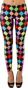 Ladies Bright Jester Leggings