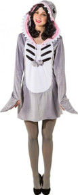 Ladies Mummy Shark Fancy Dress Costume