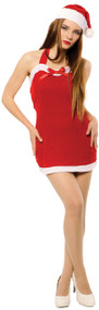Ladies Sultry Miss Santa Fancy Dress Costume