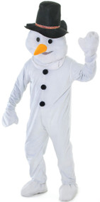 Adults Big Head Snowman Fancy Dress Costume