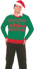 Adults Naughty Reindeer Novelty Christmas Jumper