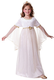 Girls Sweet Angel Gabriel Fancy Dress Costume