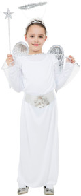 Girls Christmas Angel Fancy Dress Costume