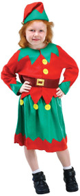 Girls Sweet Elf Fancy Dress Costume