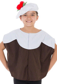 Childs Christmas Pudding Fancy Dress Costume