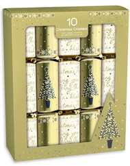 Gold & Cream Christmas Crackers