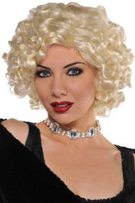 Ladies Blonde 1920s Fancy Dress Wig